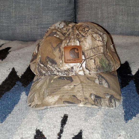 Carhartt Realtree cap.